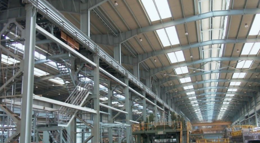 Abu Zaabal Steel Mill